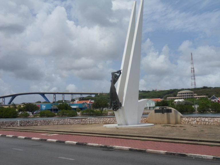Monument in punda area